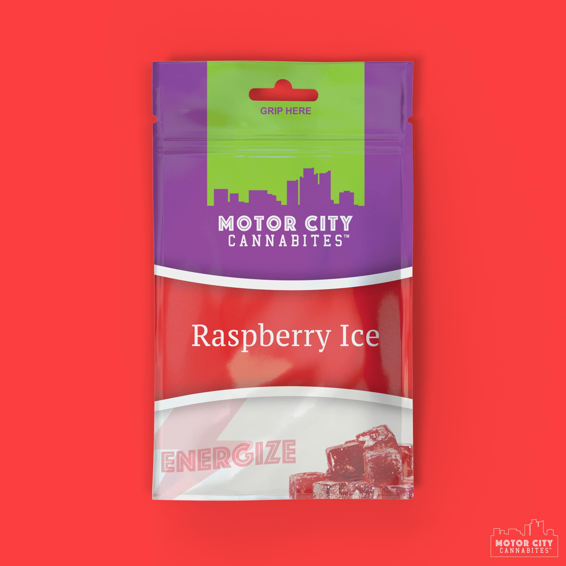 Raspberry Ice Cannabis Edible - Motor City Cannabites
