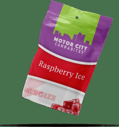 Raspberry Ice Cannabis Edible