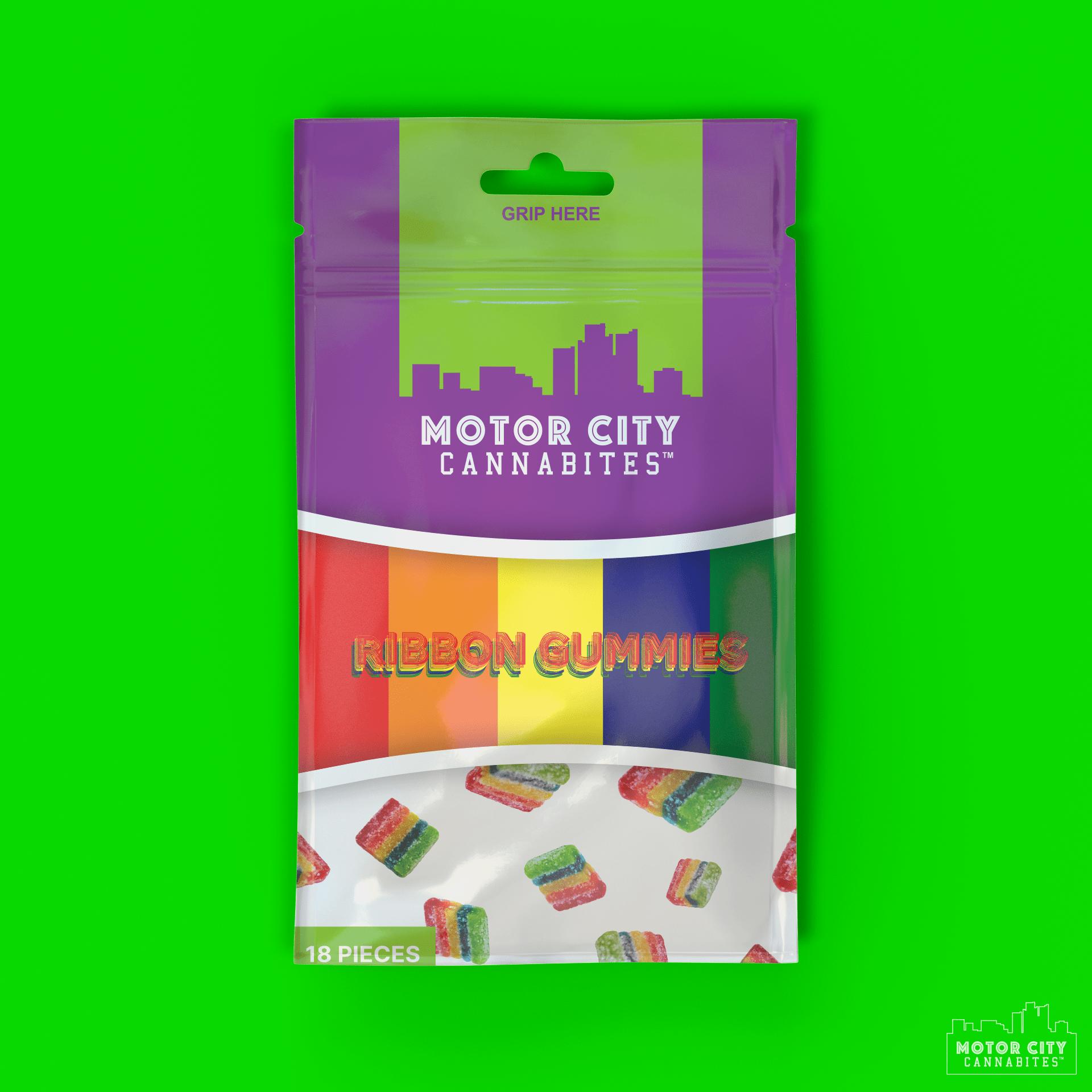 Ribbon Gummies Cannabis Edible - Motor City Cannabites