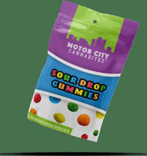 Sour Drop Gummies Cannabis Edible